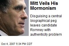 Mitt Veils His Mormonism