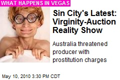 Sin City's Latest: Virginity-Auction Reality Show