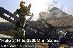 'Halo 3' Hits $300M in Sales