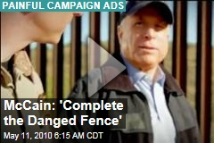 McCain: 'Complete the Danged Fence'