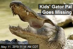 Kids' Gator Pal Goes Missing