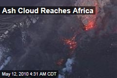 Ash Cloud Reaches Africa