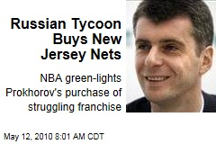 Russian Tycoon Buys New Jersey Nets