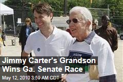 Jimmy Carter's Grandson Wins Ga. Senate Race