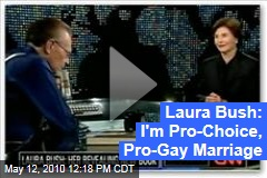 Laura Bush: I'm Pro-Choice, Pro-Gay Marriage