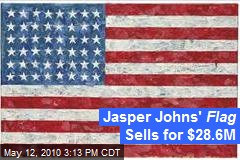 Jasper Johns' Flag Sells for $28.6M