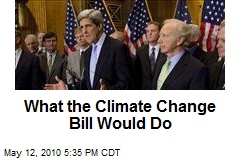 What the Climate Change Bill Would Do
