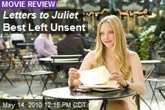 Letters to Juliet Best Left Unsent