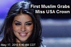 First Muslim Grabs Miss USA Crown