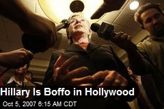 Hillary Is Boffo in Hollywood