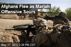 Afghans Flee as Marjah Offensive Sours