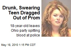 Drunk, Swearing Teen Dragged Out of Prom