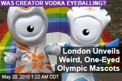 London Unveils Weird, One-Eyed Olympic Mascots
