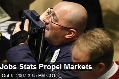 Jobs Stats Propel Markets