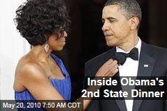 Inside Obama's 2nd State Dinner