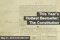 This Year's Hottest Bestseller: The Constitution