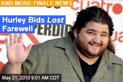 Hurley Bids Lost Farewell