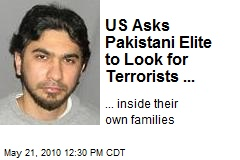 US Asks Pakistani Elite to Look for Terrorists ...