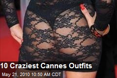 10 Craziest Cannes Outfits