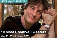 10 Most Creative Tweeters