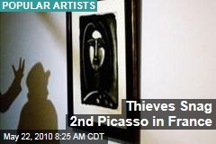 Thieves Snag 2nd Picasso in France