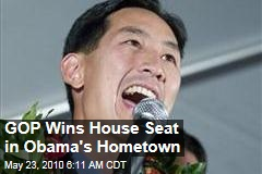 GOP Wins House Seat in Obama's Hometown