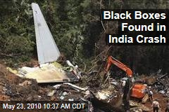 Black Boxes Found in India Crash