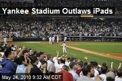 Yankee Stadium Outlaws iPads
