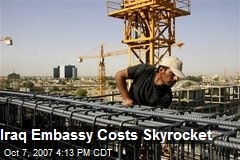 Iraq Embassy Costs Skyrocket