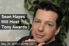 Sean Hayes Will Host Tony Awards