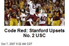Code Red: Stanford Upsets No. 2 USC