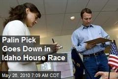 Palin Pick Goes Down in Idaho House Race