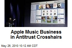Apple Music Business in Antitrust Crosshairs