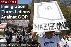Immigration Turns Latinos Against GOP
