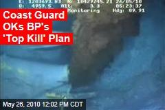 Coast Guard OKs BP's 'Top Kill' Plan