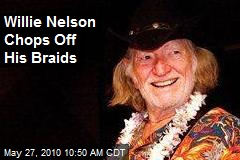Willie Nelson Chops Off His Braids