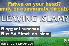 Blogger Launches Bus Ad Attack on Islam