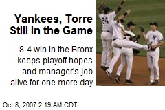 Yankees, Torre Still in the Game