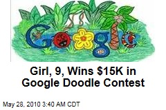 Girl, 9, Wins $15K in Google Doodle Contest
