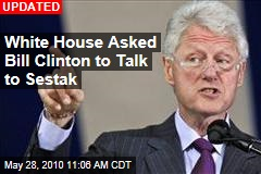 White House Asked Bill Clinton to Talk to Sestak