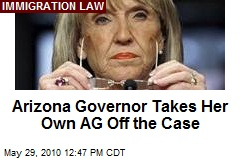 Ariz. Governor Doesn't Trust Her Own AG to Defend Law