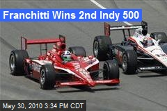 Franchitti Wins 2nd Indy 500