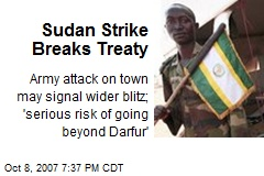 Sudan Strike Breaks Treaty
