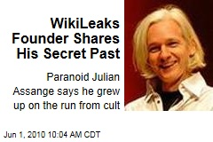 WikiLeaks Founder Shares His Secret Past