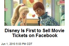 Disney Is First to Sell Movie Tickets on Facebook