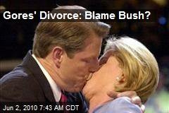 Gore's Divorce: Blame Bush?
