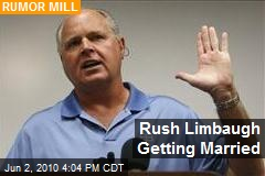 Rush Limbaugh Getting Married