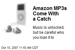 Amazon MP3s Come With a Catch