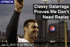 Classy Galarraga Proves We Don't Need Replay