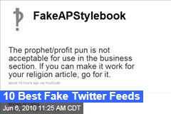 10 Best Fake Twitter Feeds